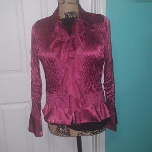 Beautiful Allison Taylor buttoned down blouse
